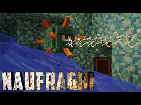 """NAUFRAGHI EP.2 - Minecraft - """"I Segreti della Caverna"""""""