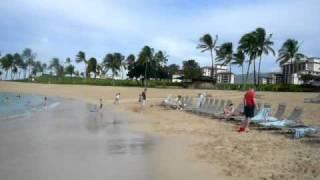 marriott ko olina beach club hotel private beach