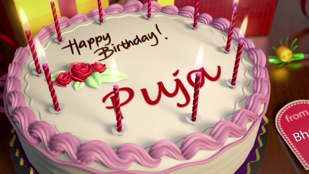 Happy Birthday Puja Youtube