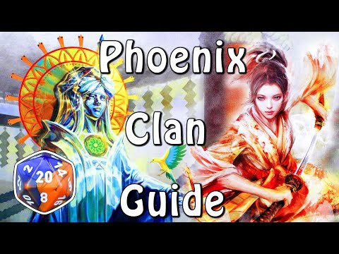 Who Are The Phoenix Clan? - Legend Of The Five Rings RPG