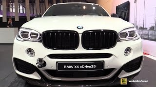 2016 BMW X6 xDrive 35i M Performance Accessorized - Exterior, Interior Walkaround