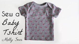 Sew a Baby Tshirt - Envelope Neck T-shirt