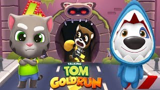 RUN! RUN! RUN! TALKING TOM GOLD RUN TALKING TOM VS TALKING HANK SHARK