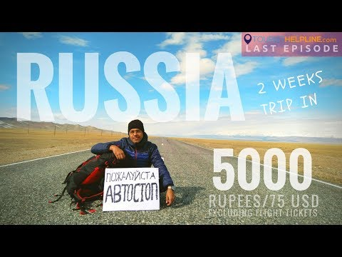 LAST DAY OF 2-WEEKS TRIP : SPACIBA RUSSIA
