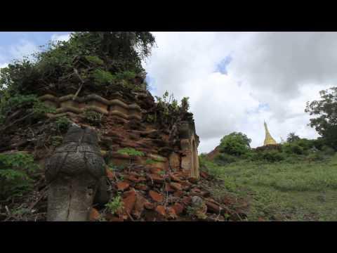 Pyu Ancient City ( Halin , Shwebo , Myanmar )
