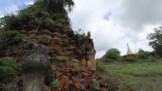 Pyu Ancient City ( Halin , Shwebo , Myanmar )