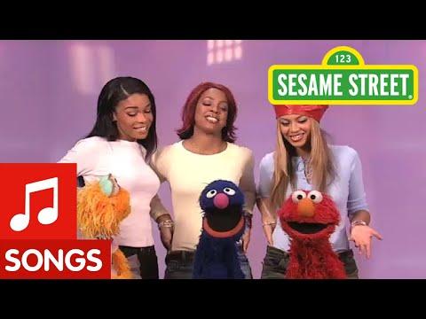 """Sesame Street: """"A New Way to Walk"""" with Destiny's Child"""