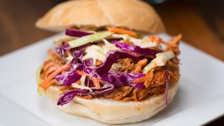 Slow-Cooker BBQ Pulled Chicken, 4 Dishes
