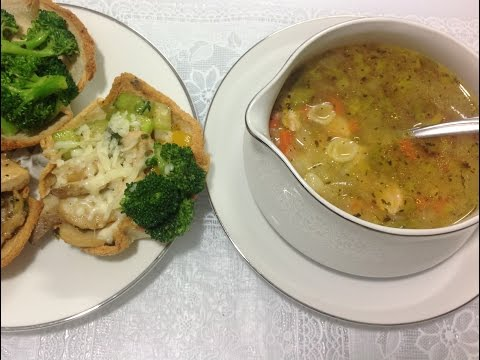 Homemade Chicken and Pasta Soup