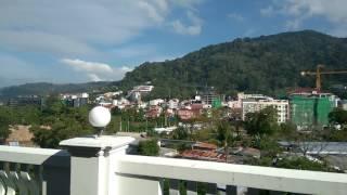 Thailand, Patong beach, APK Resort hotel. Вид из окна номера