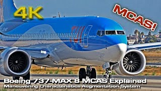 Boeing 737 MAX-8 MCAS (Explained) English subtitle