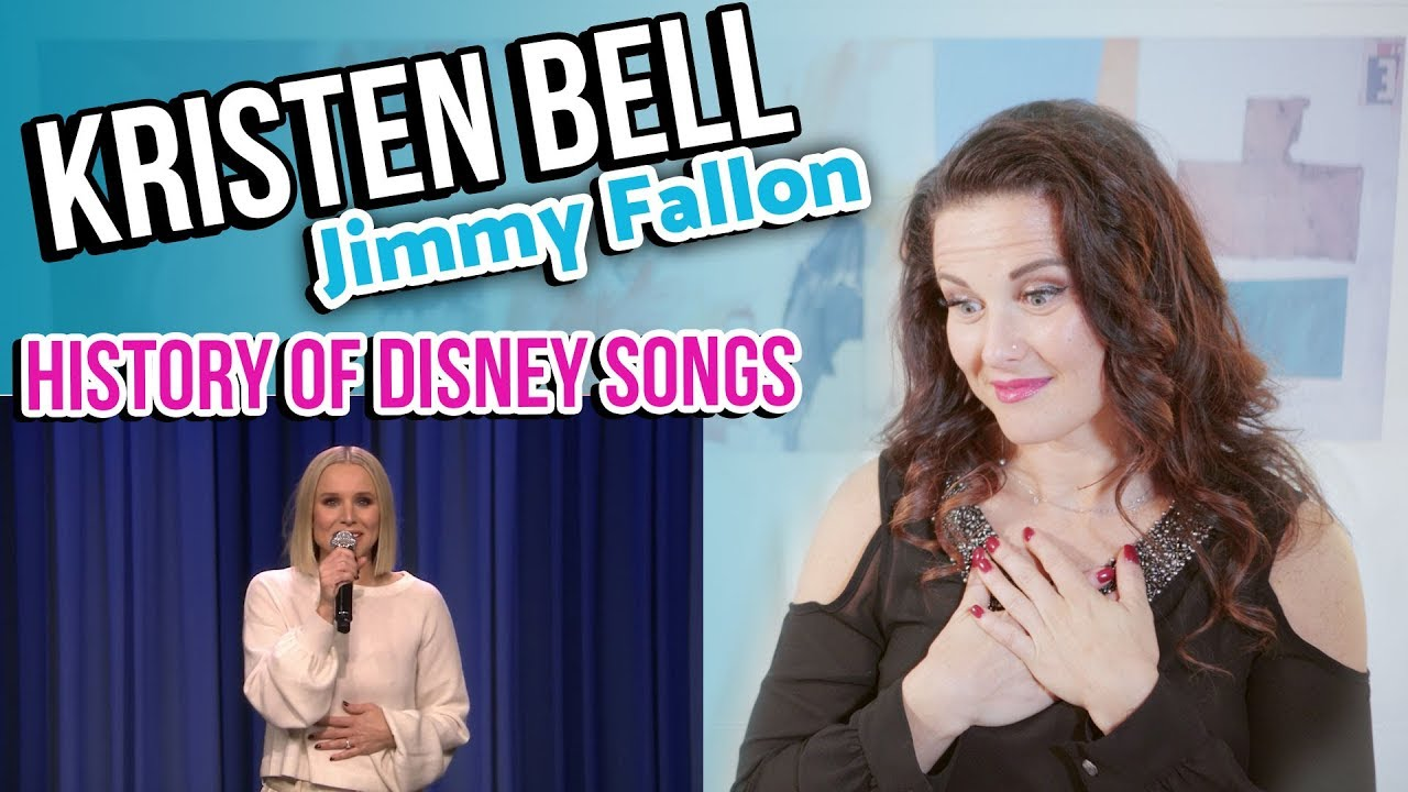 Vocal Coach Reacts to Kristen Bell and Jimmy Fallon