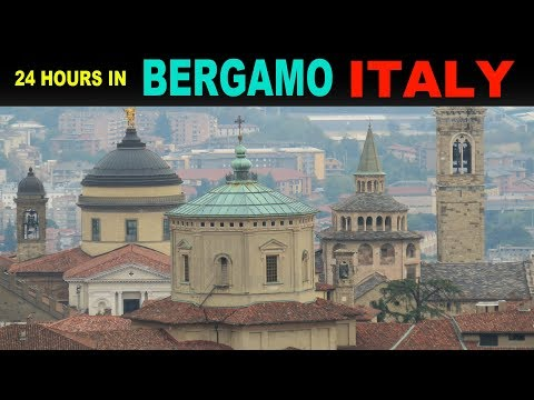 A tourist's Guide to Bergamo, Italy