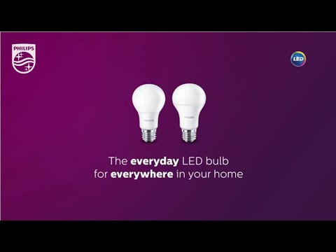Philips Everyday LED Light Bulbs