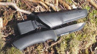 Обзор Mora Bushcraft Black SRT. Холодное оружие от Моры