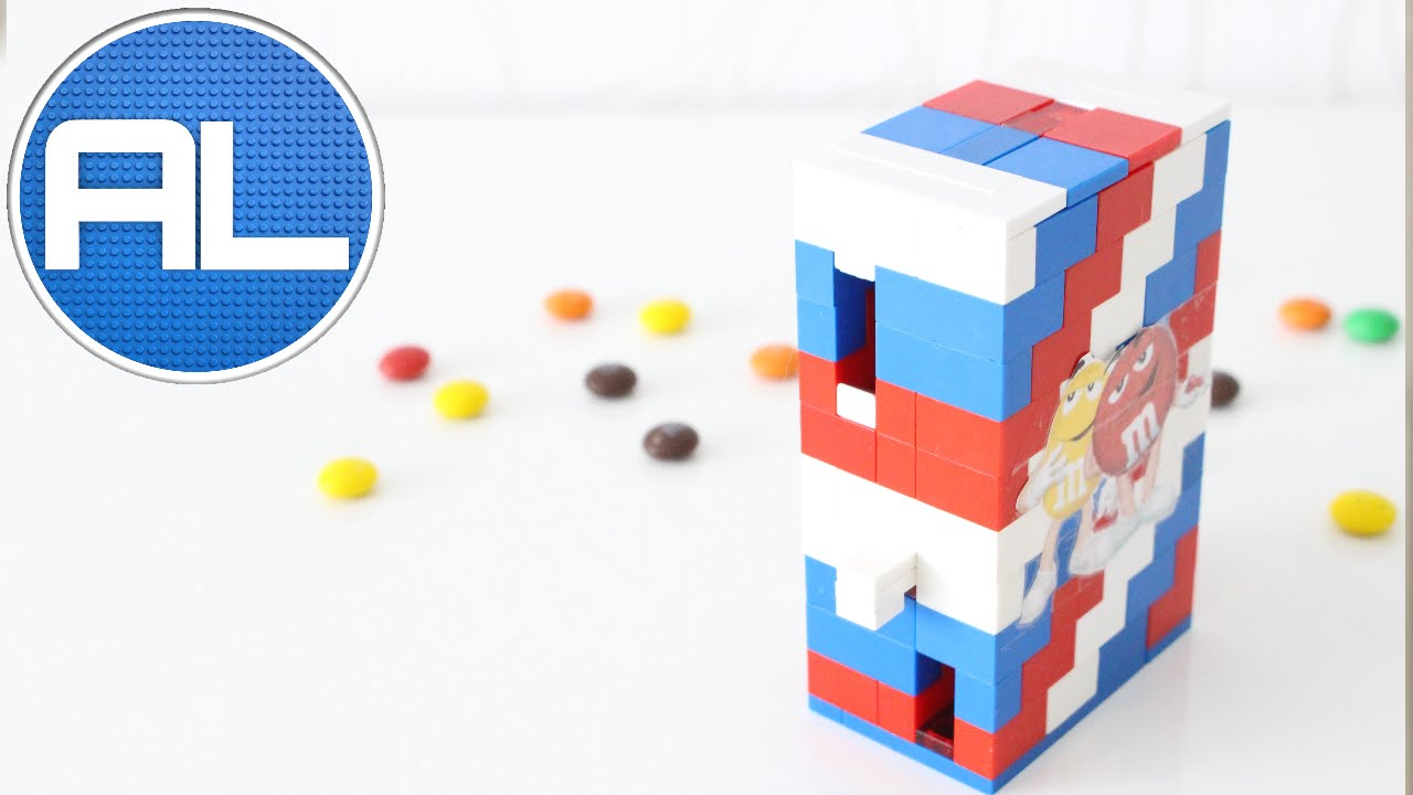 how to make a lego candy machine that works easy