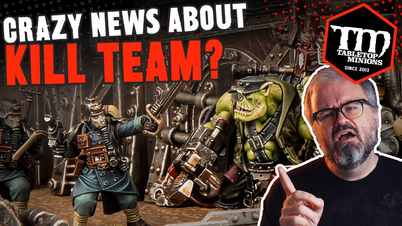 Crazy News About What's Coming to KILL TEAM?