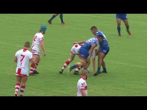 England Lions u23s 10-28 Samoa u23s - 23/02/18