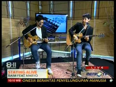 BAIM feat. MARYO performed at 8-11 (17/05) (Courtesy MetroTV)