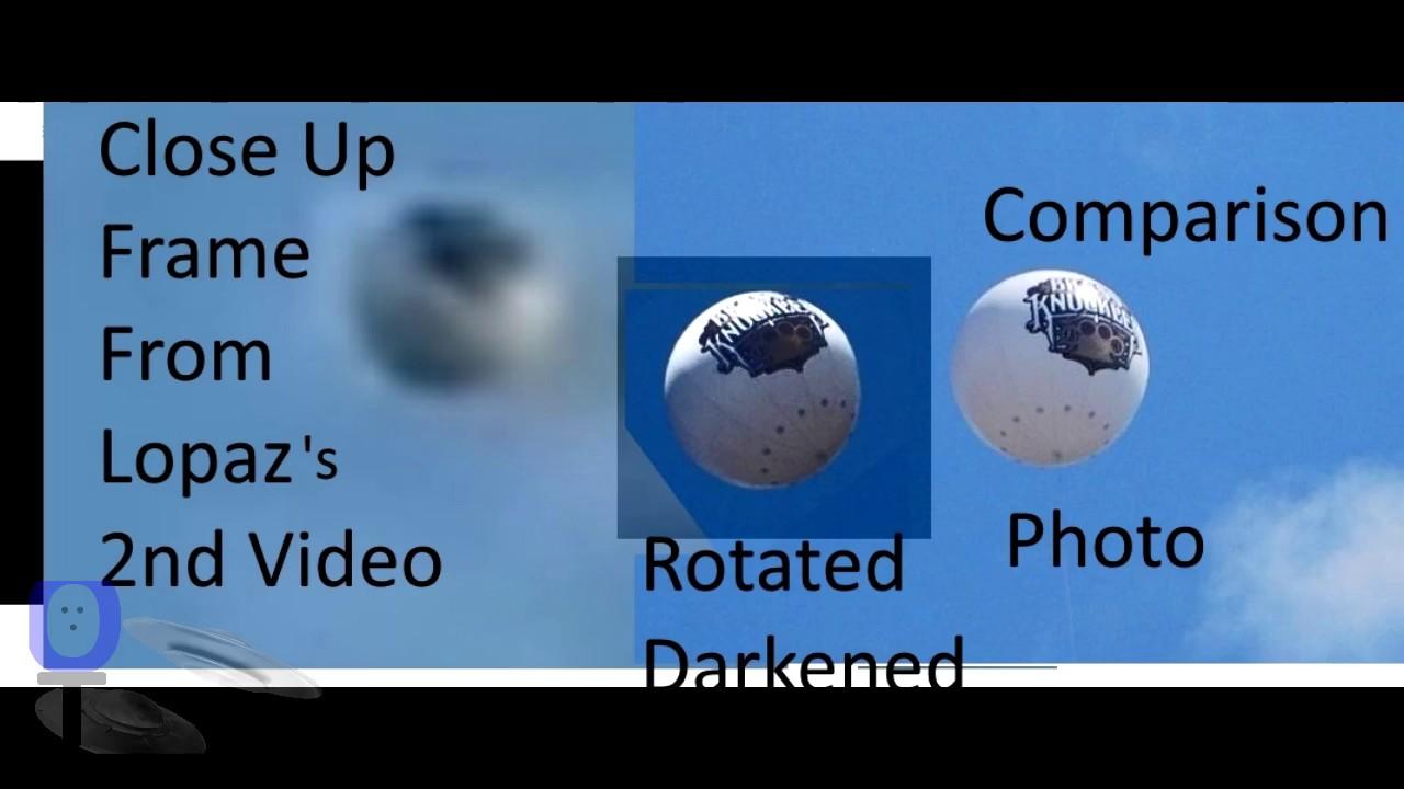 Sphere UFO - San Gabriel Valley LA + Debunk - The Out There Channel UFO Case#2 (07Sep2017)