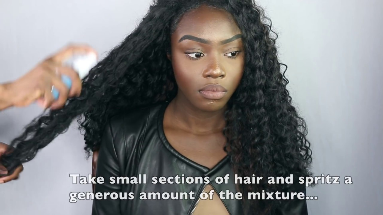 How To Maintain Your Crochet Braids No Tangling Or Matting Youtube
