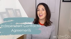 Independent Contractor Agreements - All Up In Yo' Business