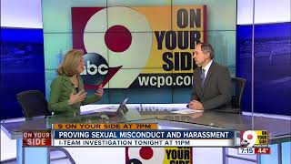 Proving sexual misconduct and harassment
