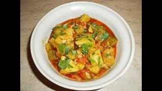 Рагу из кабачков \ Овощное рагу вкусный рецепт.