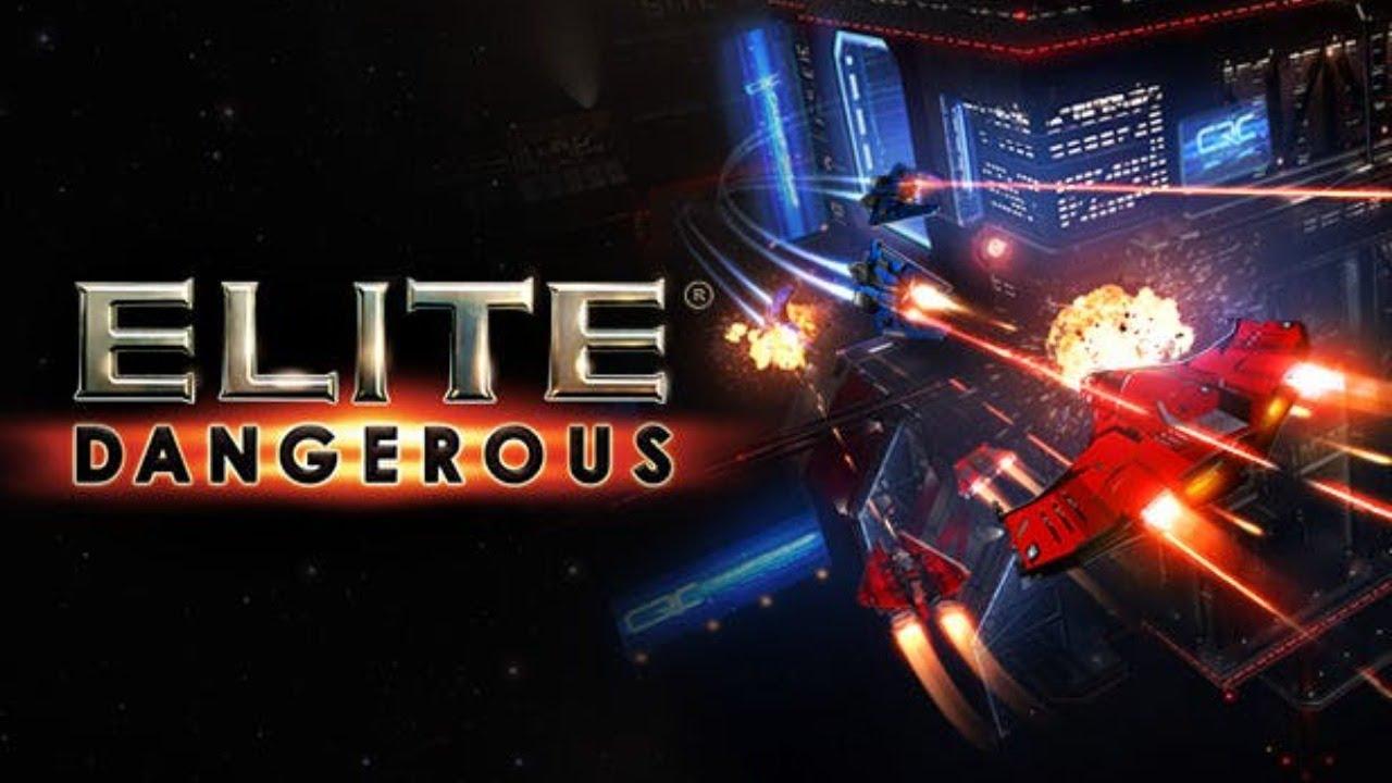 ELITE DANGEROUS - исследование космоса #1