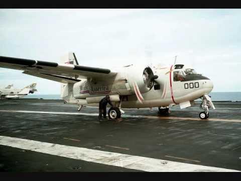 C-1 TRADER E S-2 TRACKER - AVIAÇÃO NAVAL