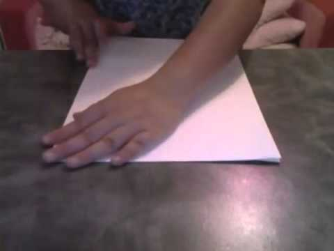 Folding A3 paper size to A4