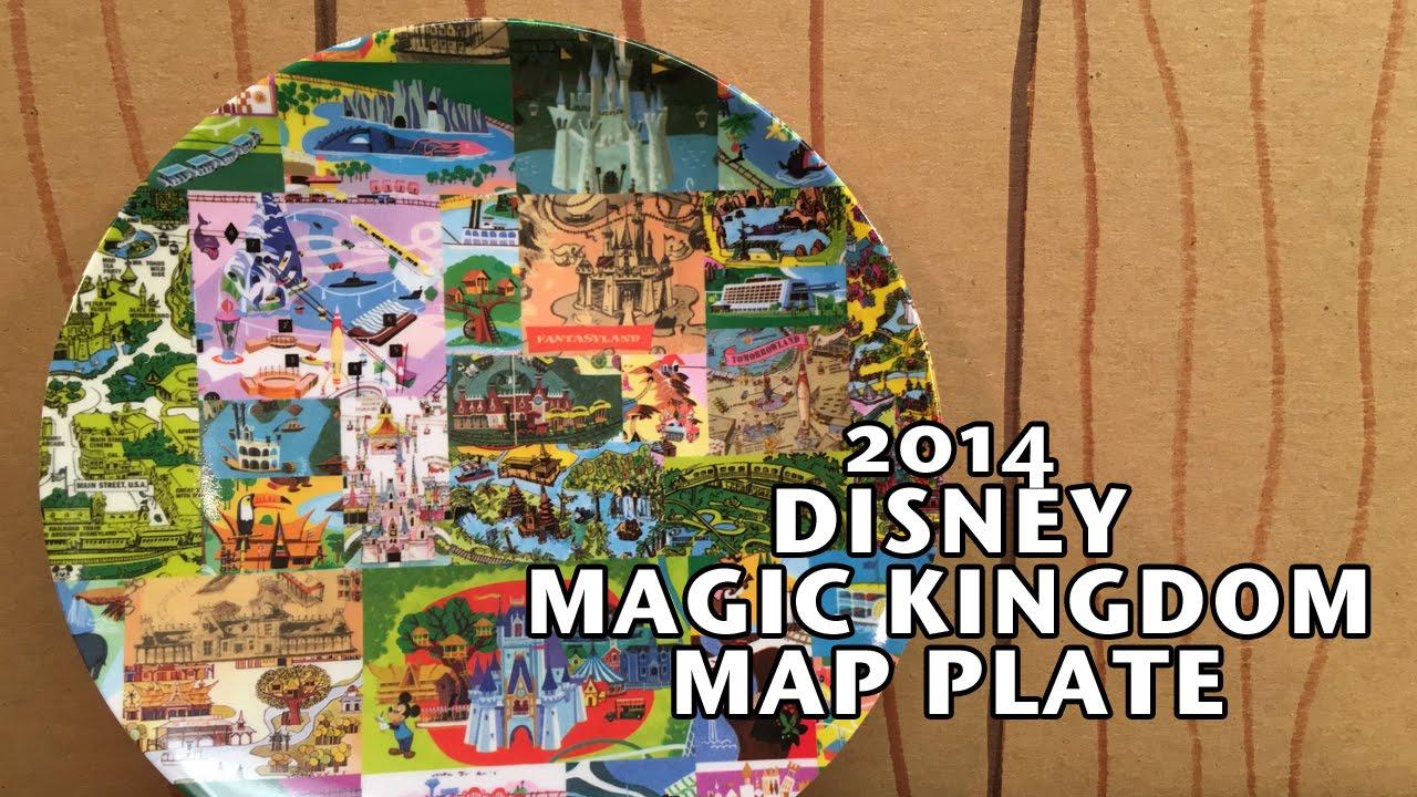 2014 Walt Disney World Magic Kingdom Map 7\