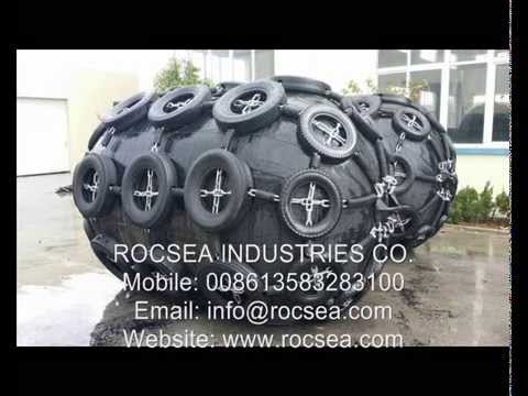 ROCSEA foam filled fenders rubber marine fenders & ship airbags