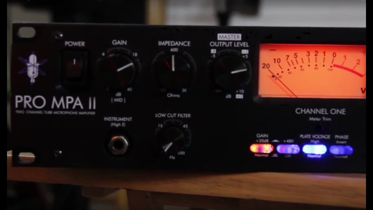 art pro mpa ii preamp vocal demo with focusrite scarlett youtube. Black Bedroom Furniture Sets. Home Design Ideas