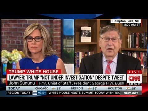 CNN HOST SHUT DOWN AFTER FORMER WH CHIEF OF STAFF DROPS BOMBSHELL ABOUT MULLER INVESTIGATION
