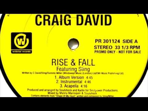 Craig David Feat Sting - Rise And Fall (Album Version Instrumental)