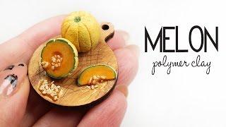 Polymer Clay Melon TUTORIAL | polymer clay food
