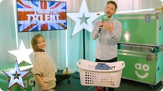 Reuben Gray, Issy Simpson and John & Brandon chat exclusively in BGT's AO.com Green Room