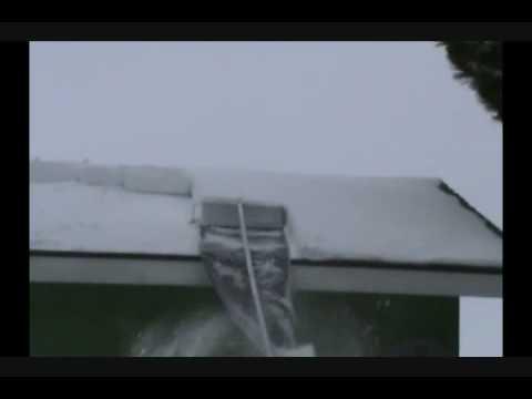 Using The Minnsnowta Roof Razor 174 Youtube