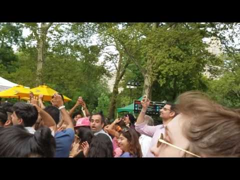 Apache Indian in Central Park NYC