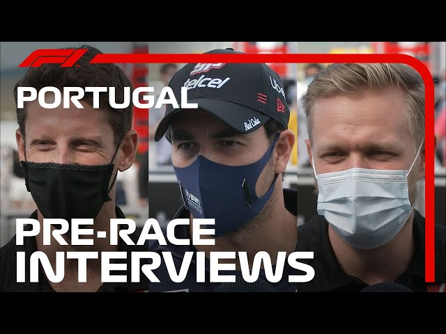 F1 Drivers Look Ahead To The 2020 Portuguese Grand Prix