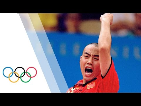 Liu Guoliang - Olympic Table Tennis Highlights