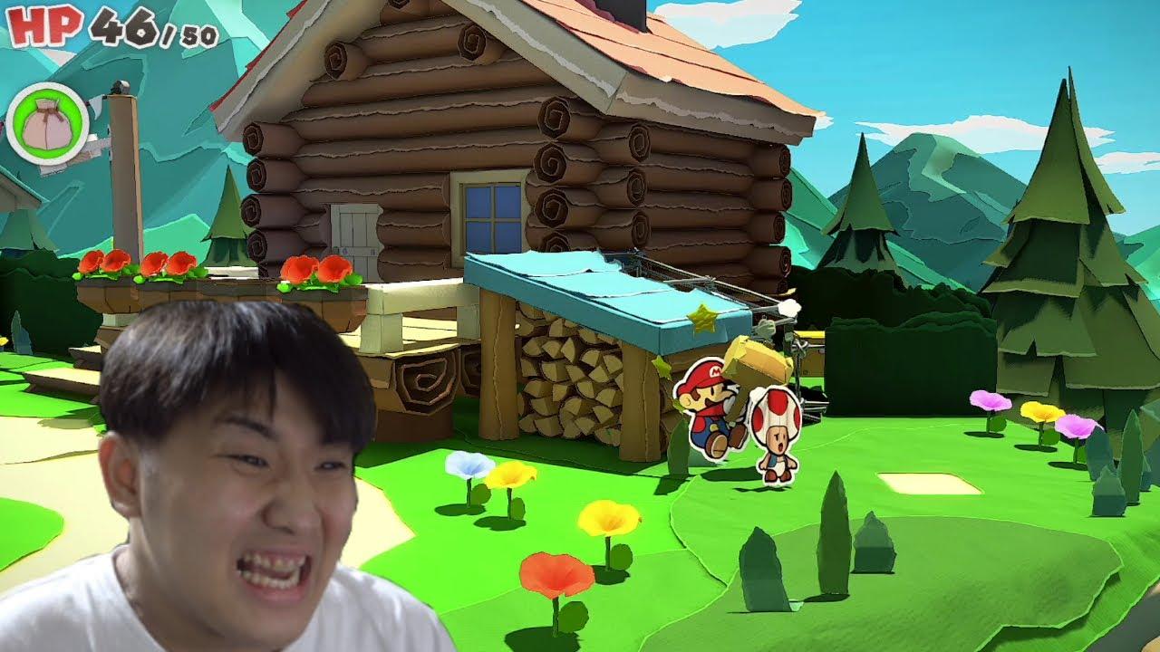 がーどまんがキノピオをボコ○ボコにする動画【ペーパーマリオ】#02