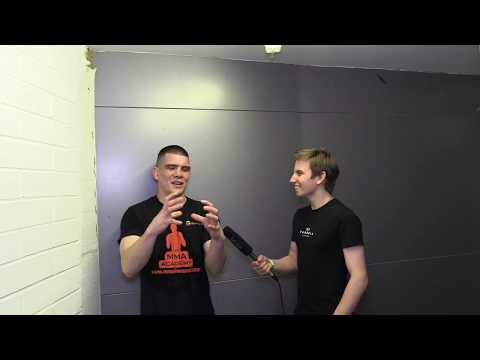 Chris Green CW Academy NW 1 Post Fight Interview