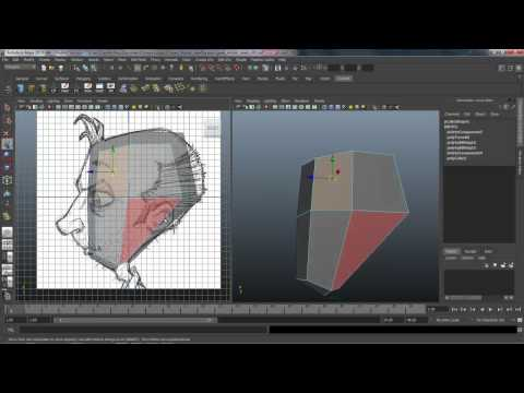 Character Modeling - Lesson 17 (Head)