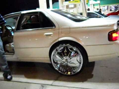 Acewhips Net Cadillac Sts On 24 Dub Voodoo Sploaters Youtube