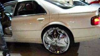"AceWhips.NET- Cadillac STS on 24"" Dub Voodoo Sploaters"