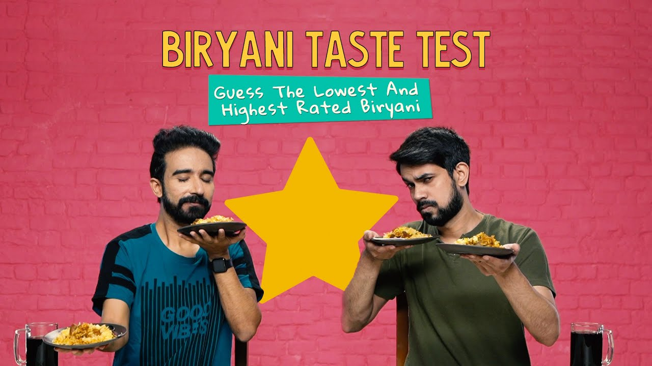 Biryani Taste Test: Guess The Lowest And Highest Rated Biryani | Ok Tested