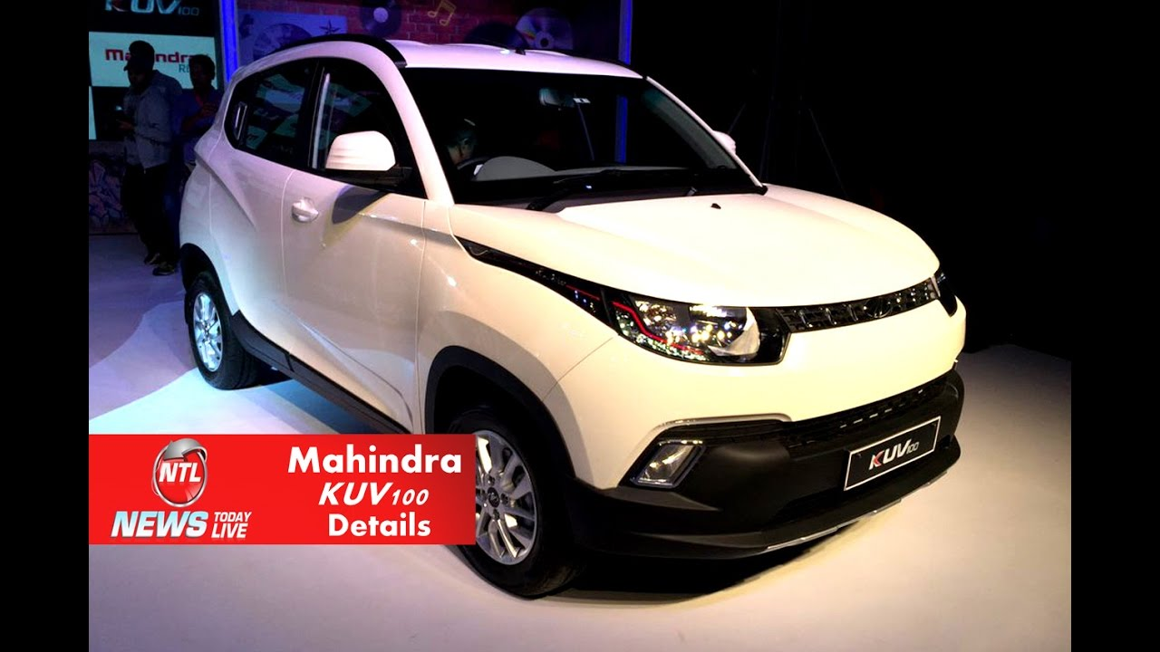 Indian Cars Mahindra Kuv Compact Suv Details And Review