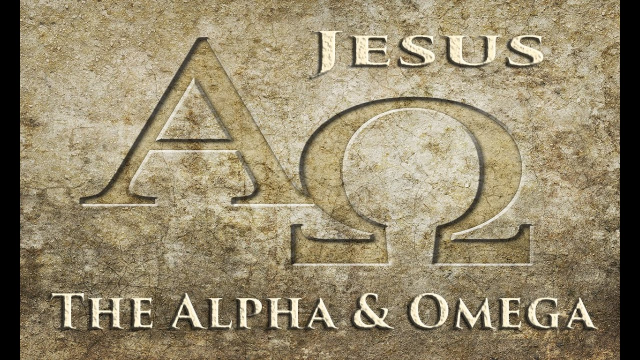 Image result for alpha and omega Jesus lord of history